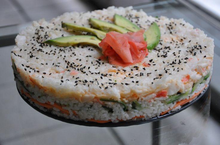 Sushi-Cake...