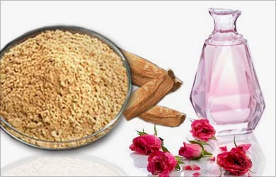 Sandalwood-and-Rosewater-Paste