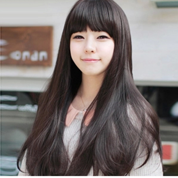 straight-hair-style-for-korean-girls