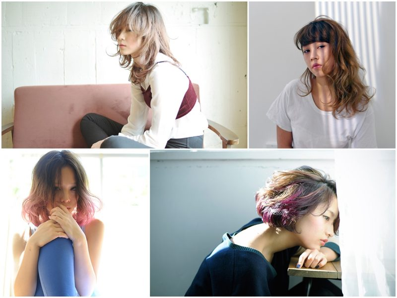 Gradation Hair Styles1
