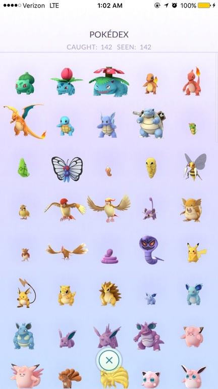 pokemon-go-142-pokemon-characters-caught