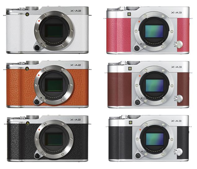 Fujifilm Xa2 Vs Xa3