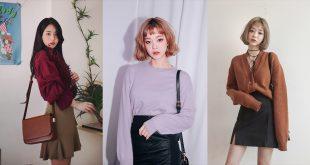30 แฟชั่นเทรนด์สี Autumn ที่สาวๆเกาหลีกำลังนิยม