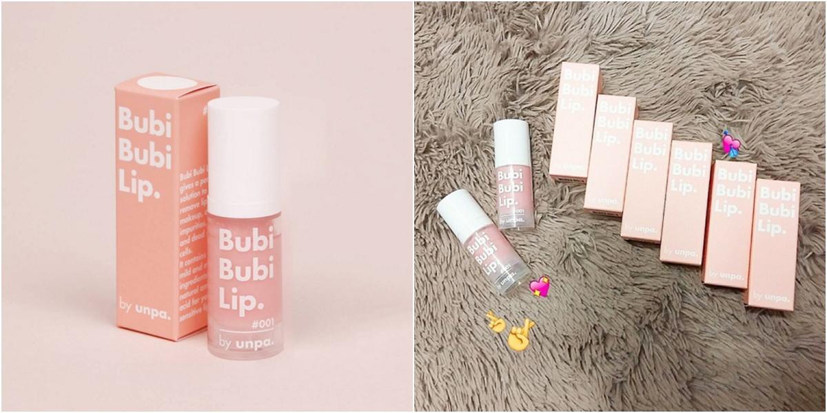 bubble lip scrub