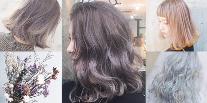 flower color hair