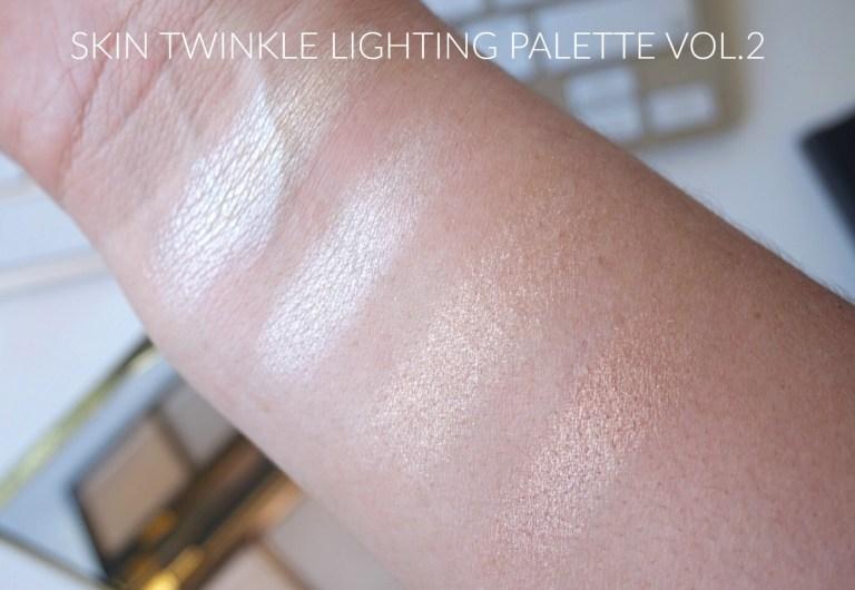 ผลการค้นหารูปภาพสำหรับ tarte rainforest of the sea skin twinkle lighting palette volume ii