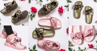 รองเท้ามีโบว์สุดเก๋แบรนด์ Puma ออกแบบโดย RIHANNA