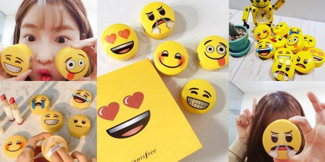 innisfree emoji packaging
