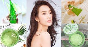 7 เจลว่านหางจระเข้..ยอดนิยมจากเกาหลีเพื่อผิวฟูปังสวย !!