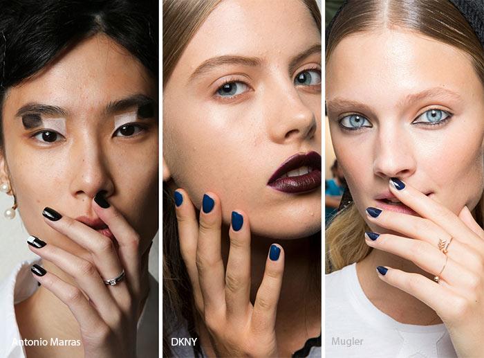 spring_summer_2017_nail_art_manicure_trends_dark_nail_polish
