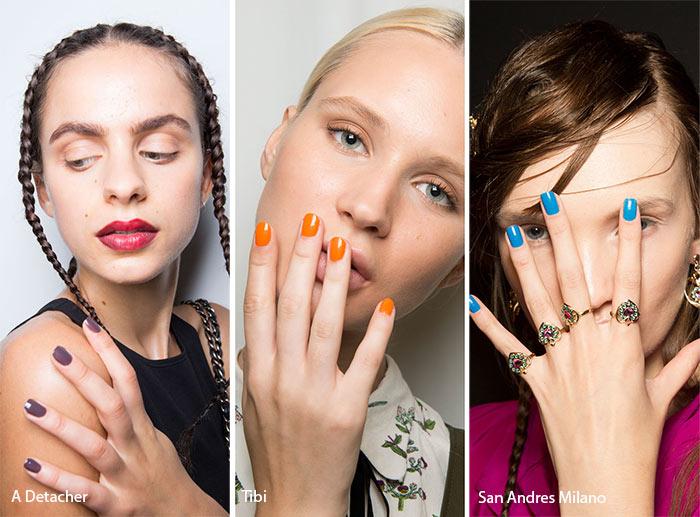 spring_summer_2017_nail_art_manicure_trends_glossy_nail_polish