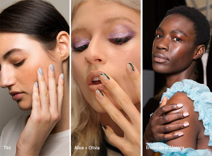 spring_summer_2017_nail_art_manicure_trends_short_rounded_nails