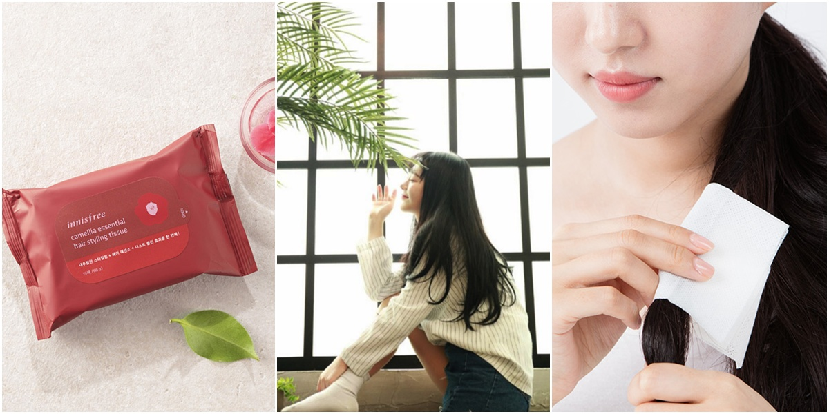 Camellia Essential Hair Styling Tissue