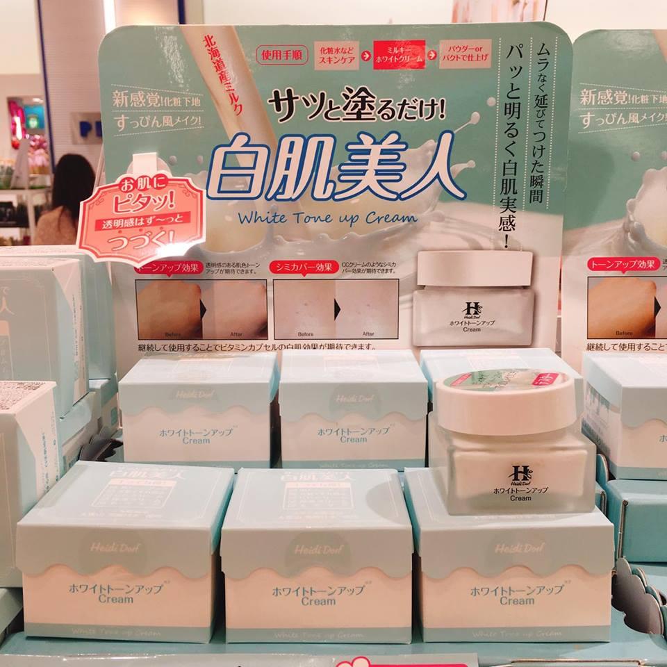 'Heidi Dorf' Hokkaido white tone up cream