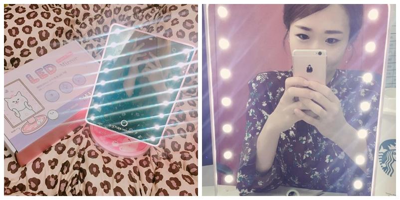 etude house led mirror