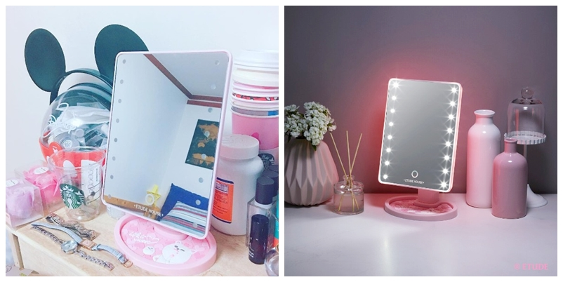 etude house led mirror5