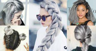 20 ไอเดียครีเอททรงผมสุดชิคแบบ silver hair style