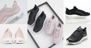 รองเท้าผ้าใบไนกี้มาใหม่ WMNS NIKE AIR MAX 97 PRM สไตล์วัยรุ่นชอบ