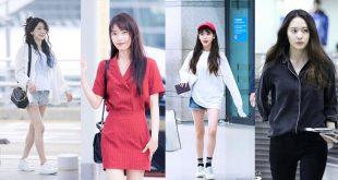 43 แฟชั่นสนามบิน Airport fashion ของไอดอลดาราเกาหลี!!