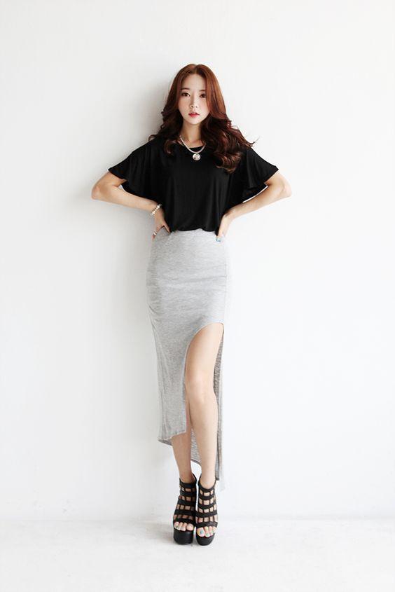 slits long skirt12
