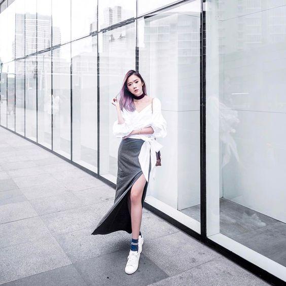 slits long skirt15
