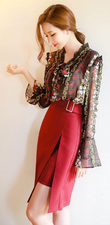 slits long skirt18