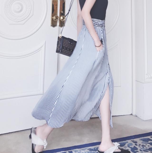 slits long skirt2