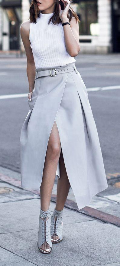 slits long skirt22