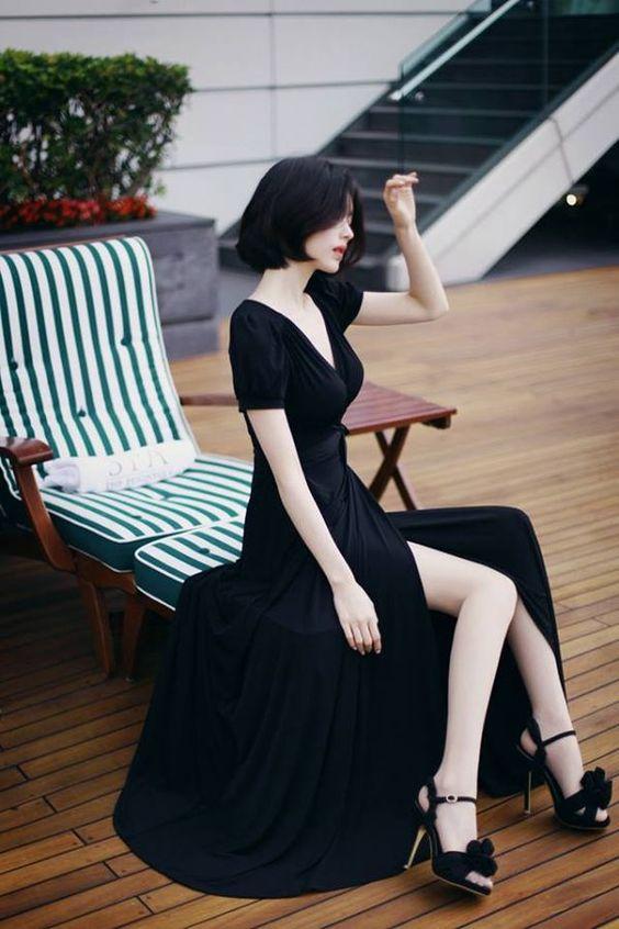 slits long skirt31