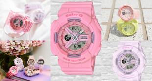 Baby G pink
