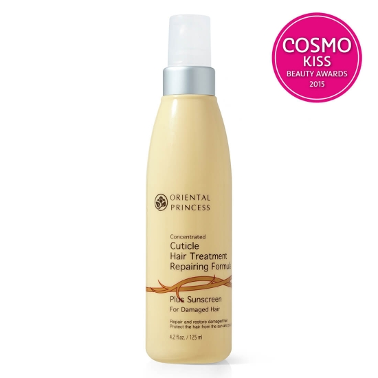Concentrated Cuticle Hair Treatment Plus Sunscreen For Damaged Hair