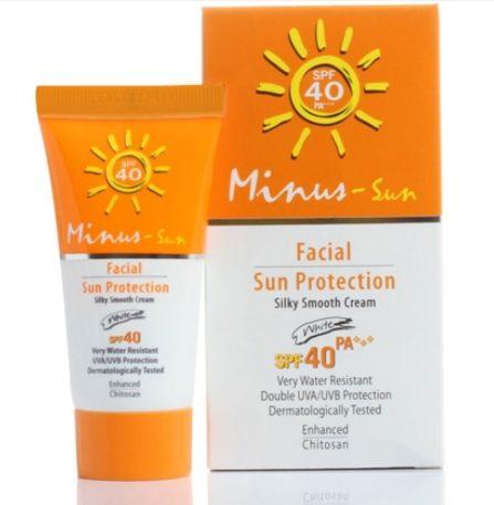 Minus Facial Sun Protection SPF40 PA+++