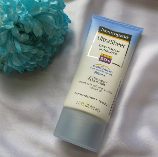 Neutrogena Ultra Sheer Dry-touch Sunblock SPF 50+ pa+++ 1