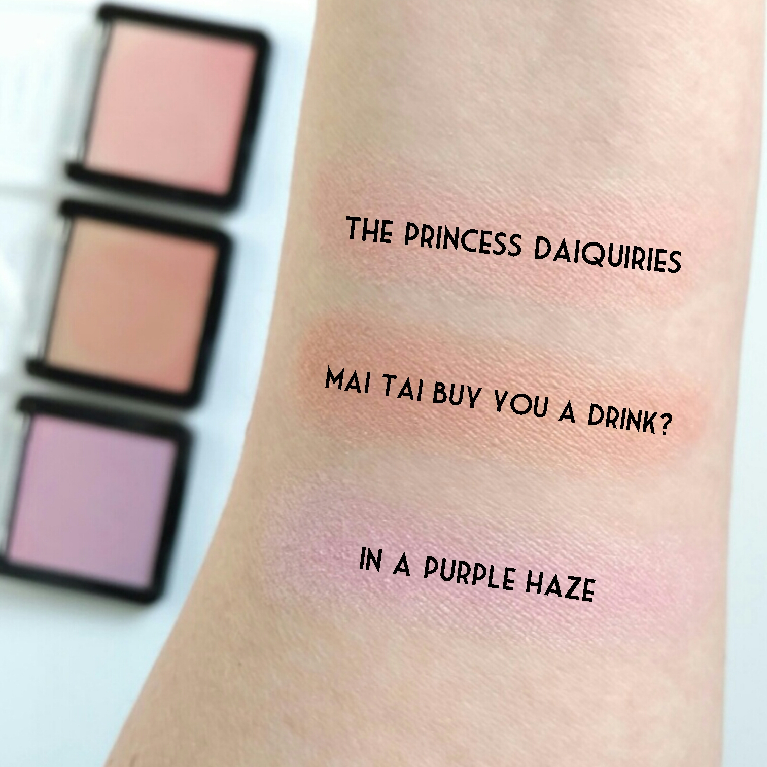 Wet n Wild Color Icon Ombré Blush swatchs