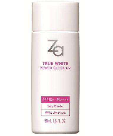 Za TRUE WHITE POWER BLOCK UV SPF 50+ PA++++