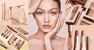 ใหม่!! Gigi Hadid's Coast to Coast Makeup Collections จาก Maybelline New York
