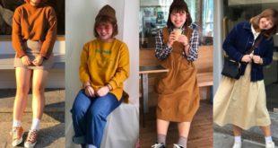 15 แฟชั่นสาวอวบร่างเล็กจาก IG: hellocik0802 น่ารักตามสไตล์เกาหลี