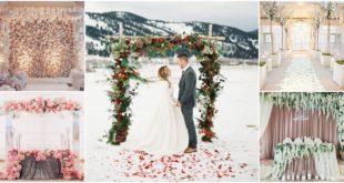 60 ซุ้มถ่ายภาพงานแต่งธีมฤดูหนาว บรรยากาศชวนฝัน อบอุ่นหัวใจ!!
