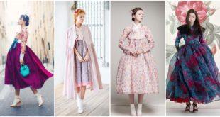 60 แฟชั่นชุด Modern Hanbok เปลี่ยนชุดฮันบกแบบเดิมๆให้สวยทันสมัย!!