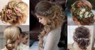 สาวๆห้ามพลาด!! 25 แบบทรงผมสำหรับงานแต่งงาน สวยหรูสุดๆ !