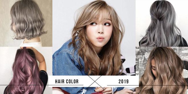 เทรนด์สีผมแฟชั่น ปี 2019