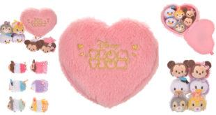 ส่องความน่ารัก!! เซ็ทตุ๊กตา Disney Tsum Tsum รับเทศกาลวาเลนไทน์สุดหวาน!