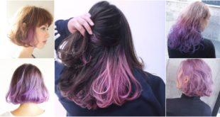 ไอเดียย้อมผมสีม่วงสไตล์สาวญี่ปุ่น!! ไม่ฉูดฉาด ทำได้จริงในชีวิตประจำวัน