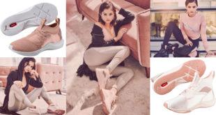 สวยเริ่ด!! PUMA En Pointe รองเท้าผ้าใบสีพีชกับนางแบบสุดแซ่บ!