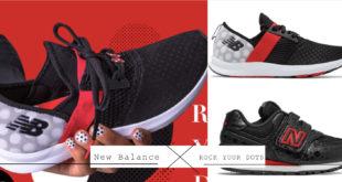 NB X Rock Your Dots รองเท้าผ้าใบมินนี่เม้าส์สุดน่ารักปนเท่