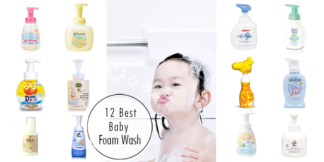 แนะนำ 12 โฟมอาบน้ำเด็ก อาบสนุก ปลอดภัยไร้กังวล