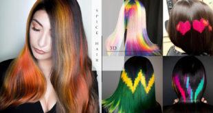 40 เทรนด์สีผม Spice Hair 3D Color ต้อนรับซัมเมอร์แบบแซ่บลื้ม!!