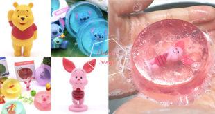 สบู่ Disney ซื้อสบู่แถมโมเดลของเล่นสุดน่ารัก พร้อมกลิ่นหอมสดชื่น!!