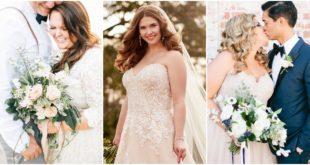 30 แบบชุดแต่งงานสำหรับเจ้าสาว Plus-Size สวยละมุนไม่แพ้ใคร