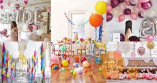 30 ไอเดียจัดปาร์ตี้เก๋ๆด้วยลูกโป่ง เข้ากับทุกงานเทศกาล
